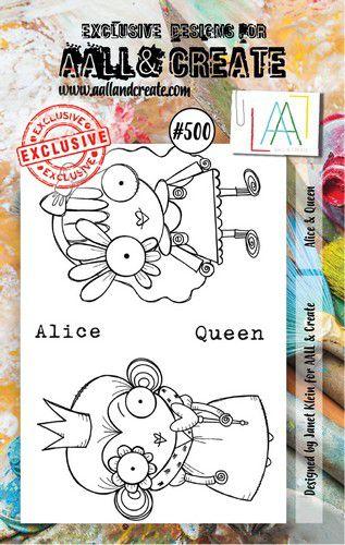 aall create stamp alice queen aalltp500 73x1025cm 0921