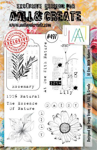 aall create stamp at one with nature aalltp497 73x1025cm 0921