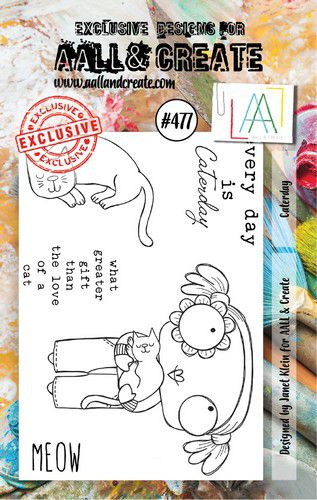 aall create stamp caterday aalltp477 73x1025cm