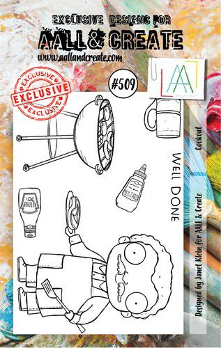 aall create stamp cookout aalltp509 73x1025cm 0921