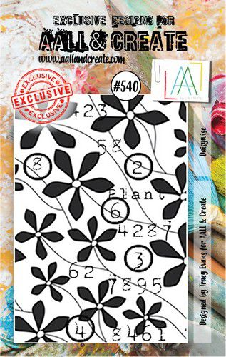 aall create stamp daisywise aalltp540 73x1025cm 0921
