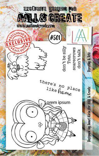 aall create stamp dorothy toto aalltp501 73x1025cm 0921