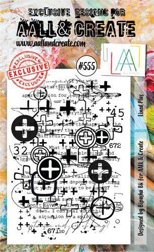 aall create stamp lined plus aalltp555 15x10cm 0921