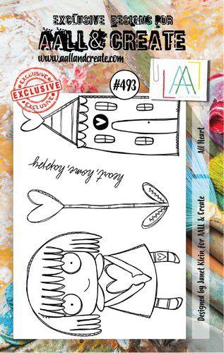 aall create stamp set all heart aalltp493 73x1025cm 0921