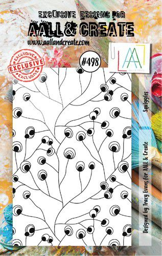 aall create stamp squiggles aalltp498 73x1025cm 0921