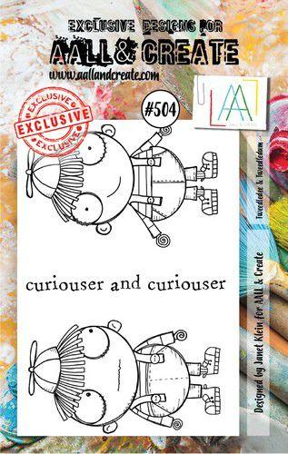 aall create stamp tweedledee tweeddledum aalltp504 73x1025cm 0921