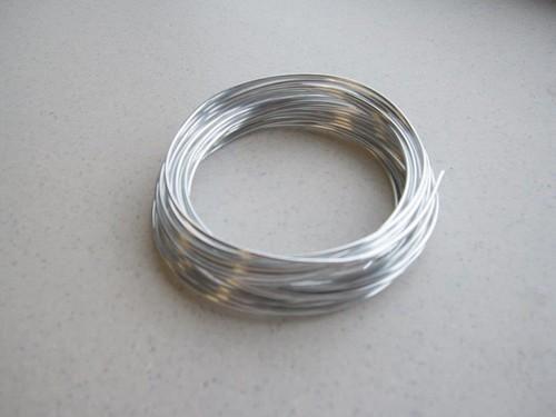 aluminiumdraht silber 4mt