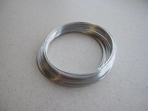 aluminiumdraht silber 8mt
