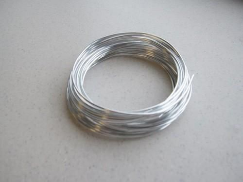 aluminum wire silver 4mt