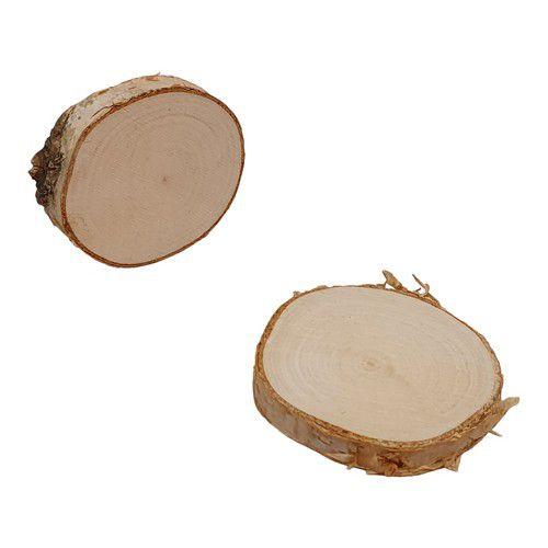 baumrinde rund aus birkenholz durchmesser 910 cm h 07 cm