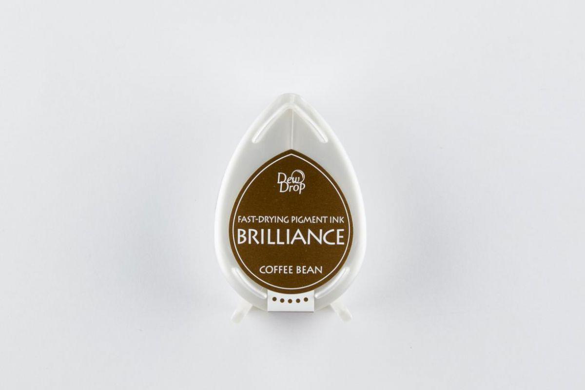 brilliance dew drop inkpad coffee bean bd000054