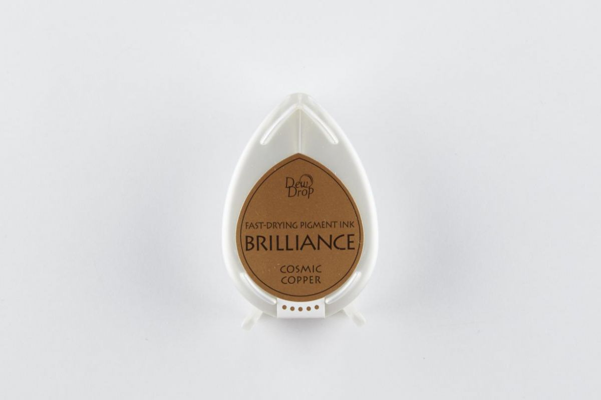 brilliance dew drop inkpad cosmic copper bd000094