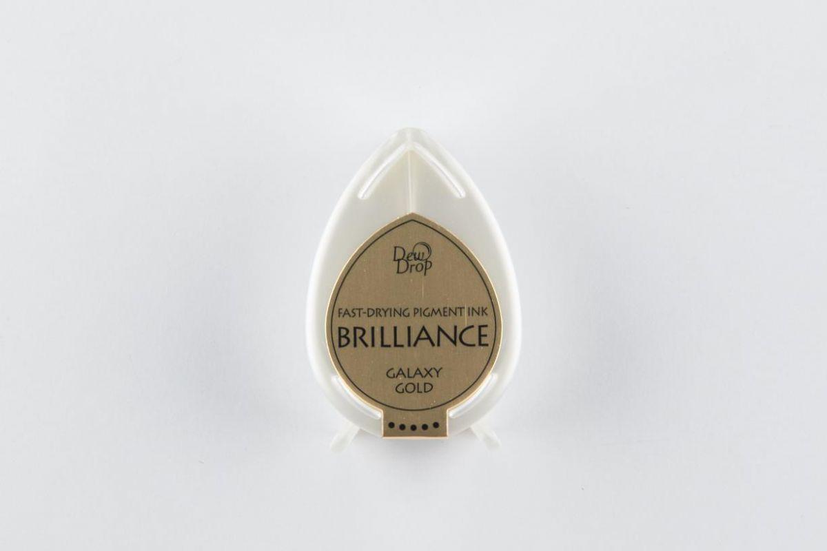 brilliance dew drop inkpad galaxy gold bd000091