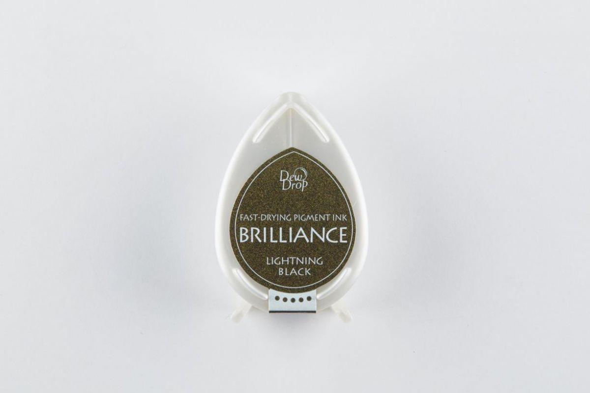 brilliance dew drop inkpad lightning black bd000095