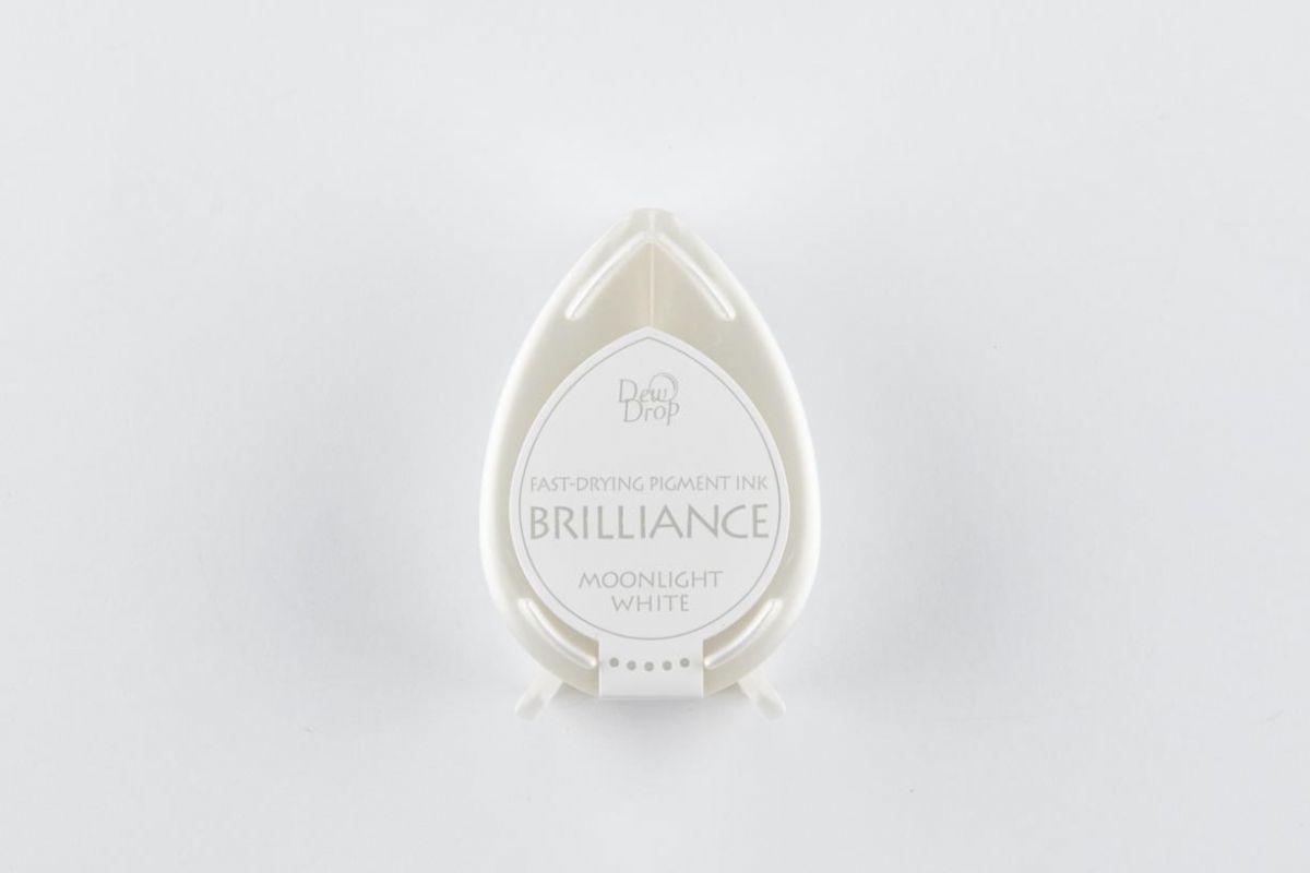 brilliance dew drop inkpad moonlight white bd000080