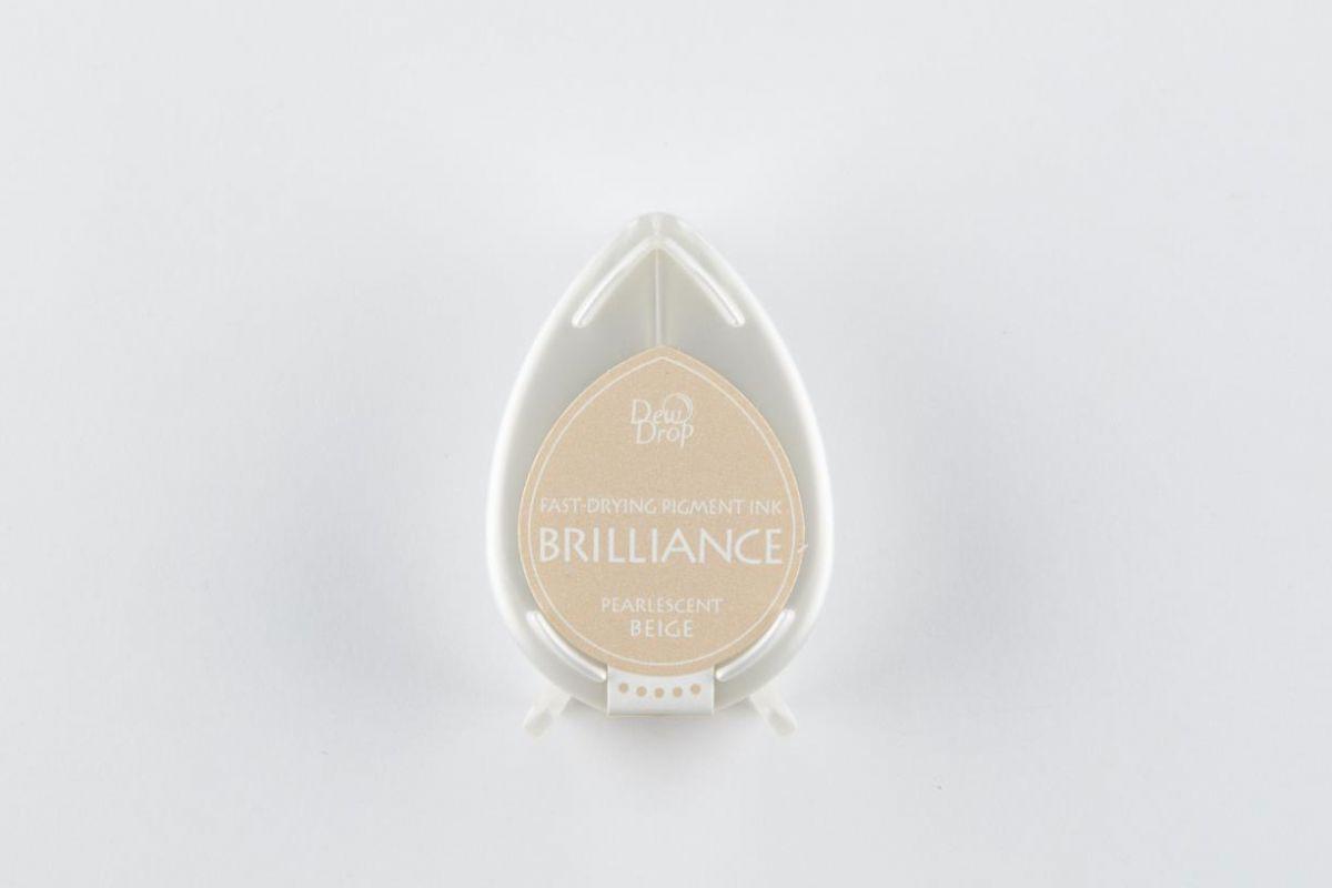 brilliance dew drop inkpad pearlescent beige bd000055