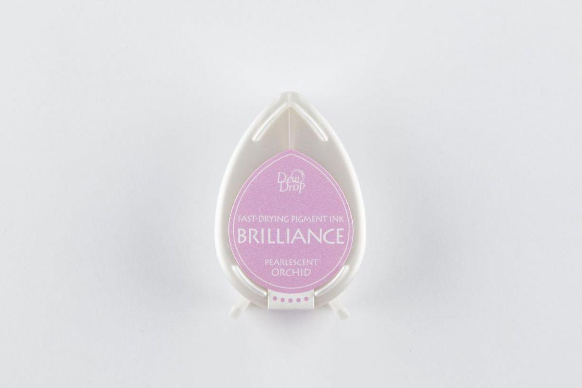 brilliance dew drop inkpad pearlescent orchid bd000034
