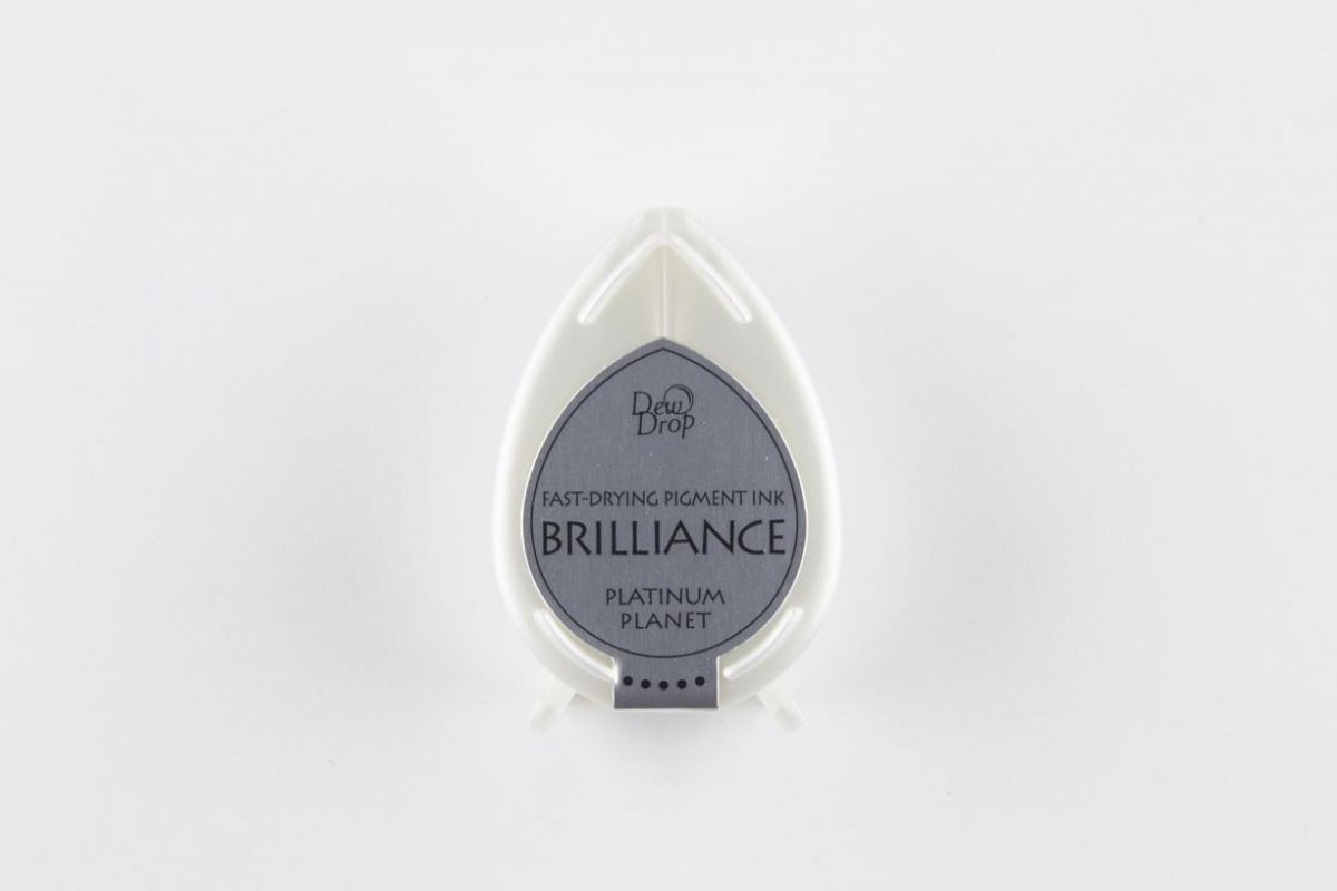 brilliance dew drop inkpad platinum planet bd000092