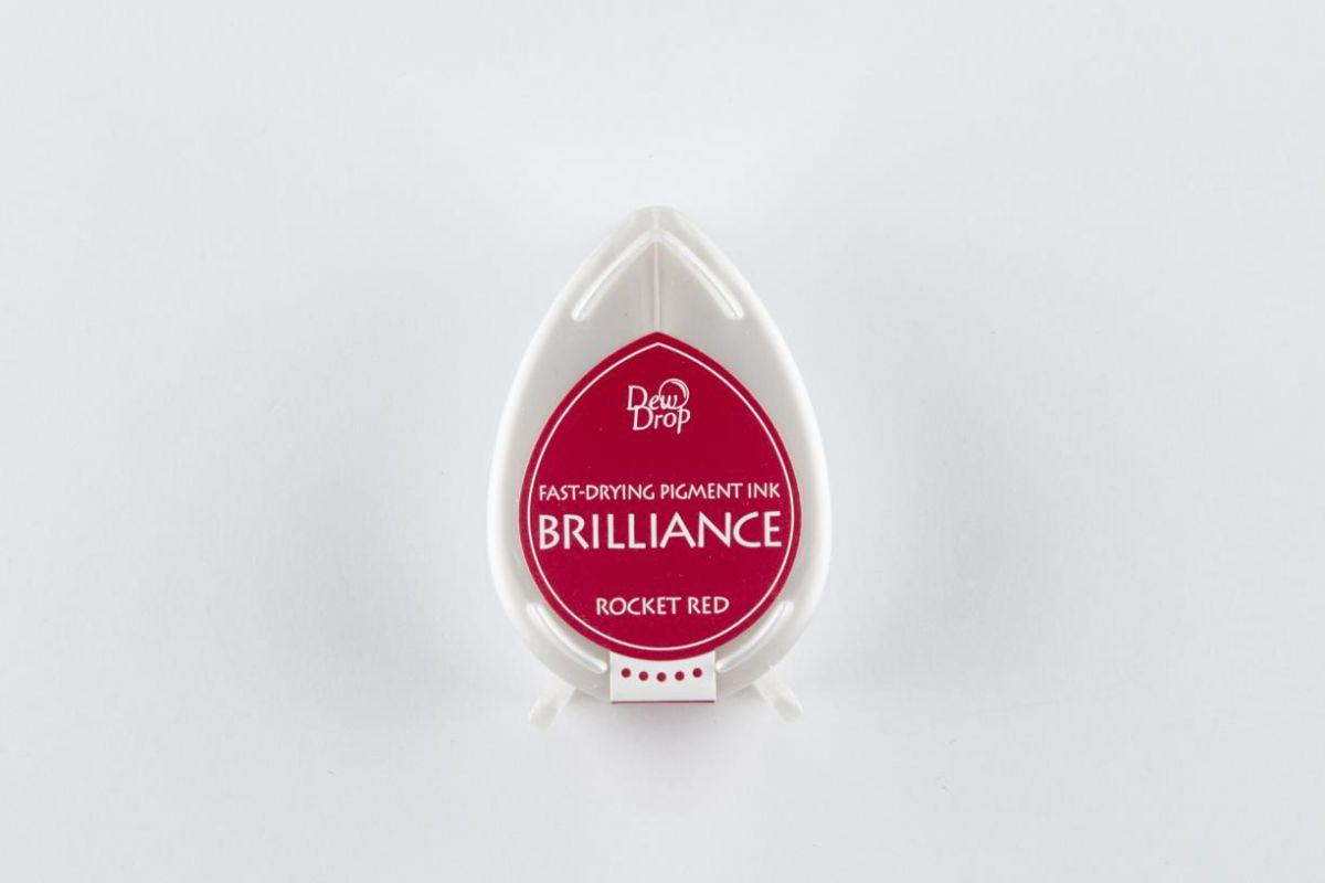 brilliance dew drop inkpad rocker red bd000023