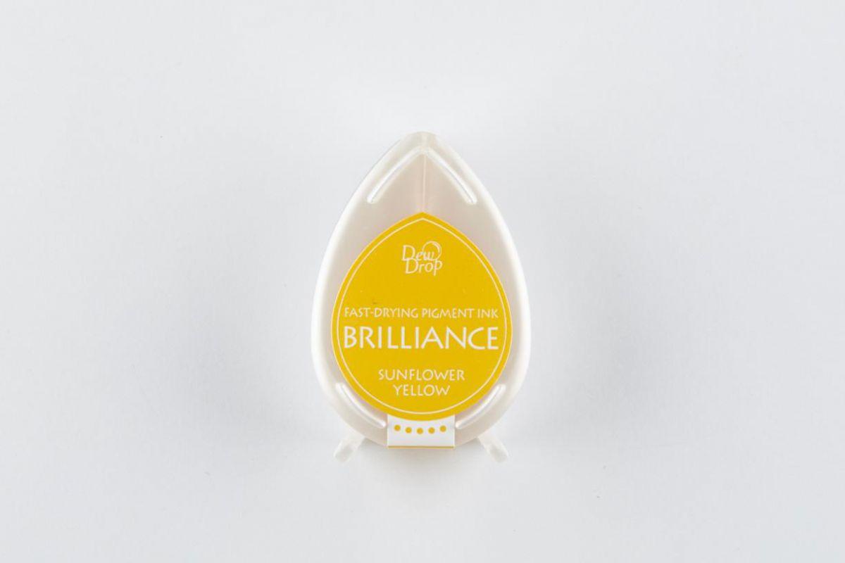 brilliance dew drop inkpad sunflower yellow bd000011