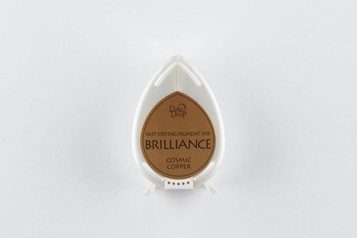 brilliance dew drop inktkussen cosmic copper bd000094