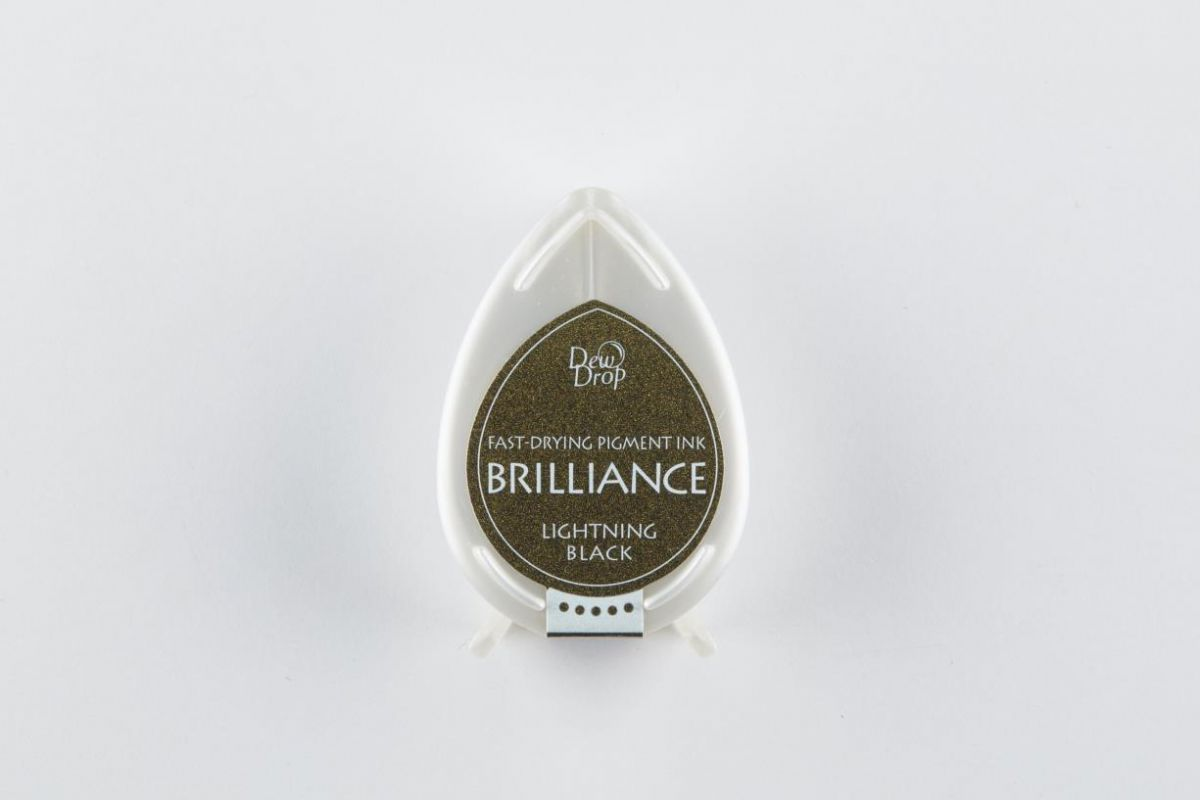 brilliance dew drop inktkussen lightning black bd000095