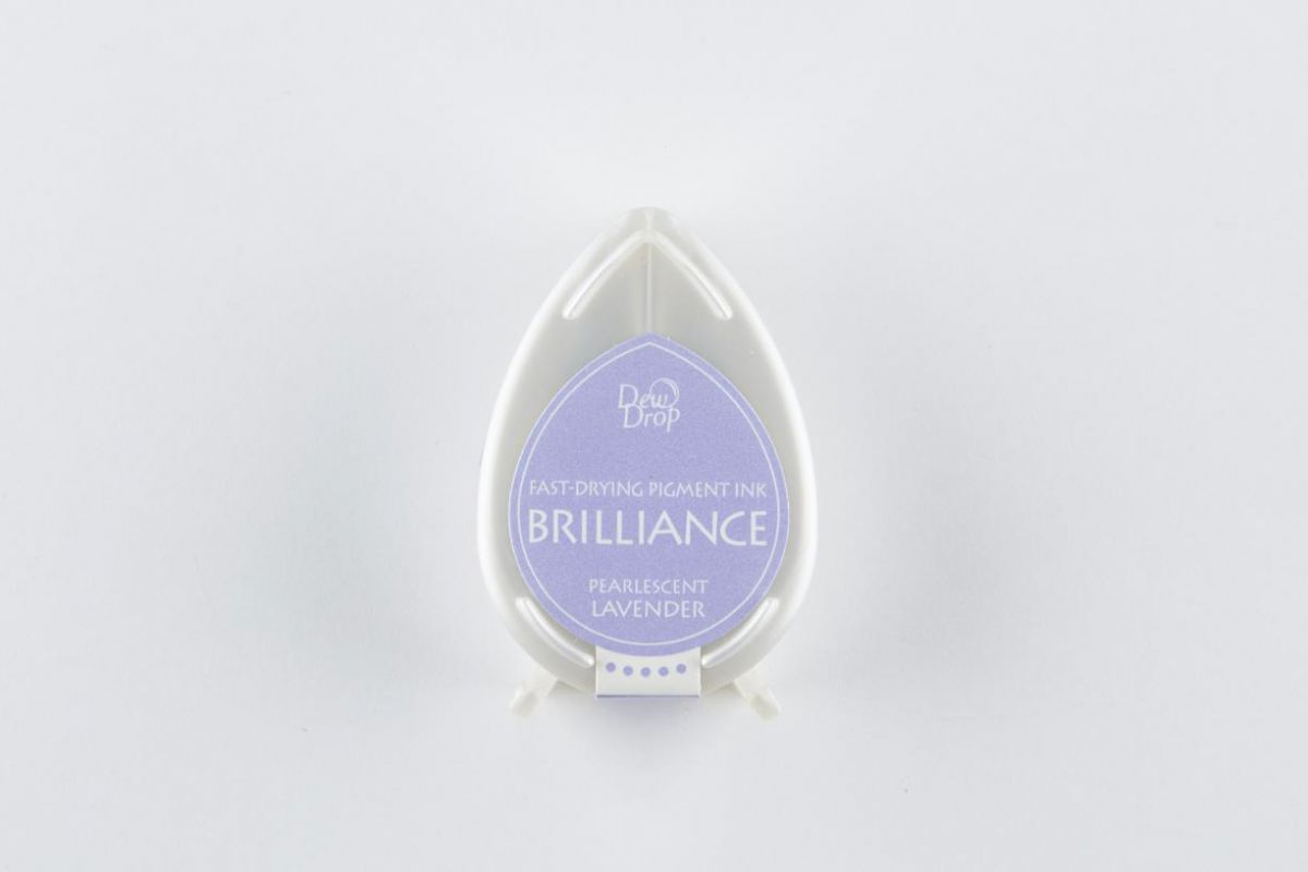 brilliance dew drop inktkussen pearlescent lavender bd000037