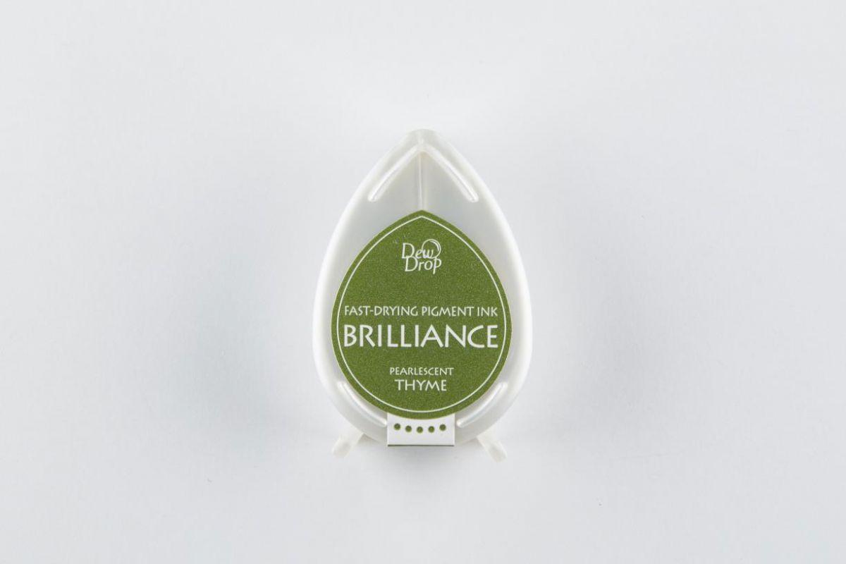 brilliance dew drop inktkussen pearlescent thyme bd000075