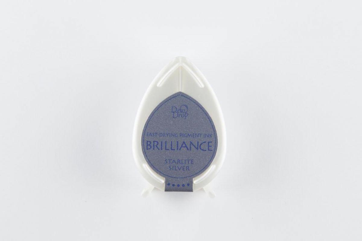 brilliance dew drop inktkussen starlite silver bd000093