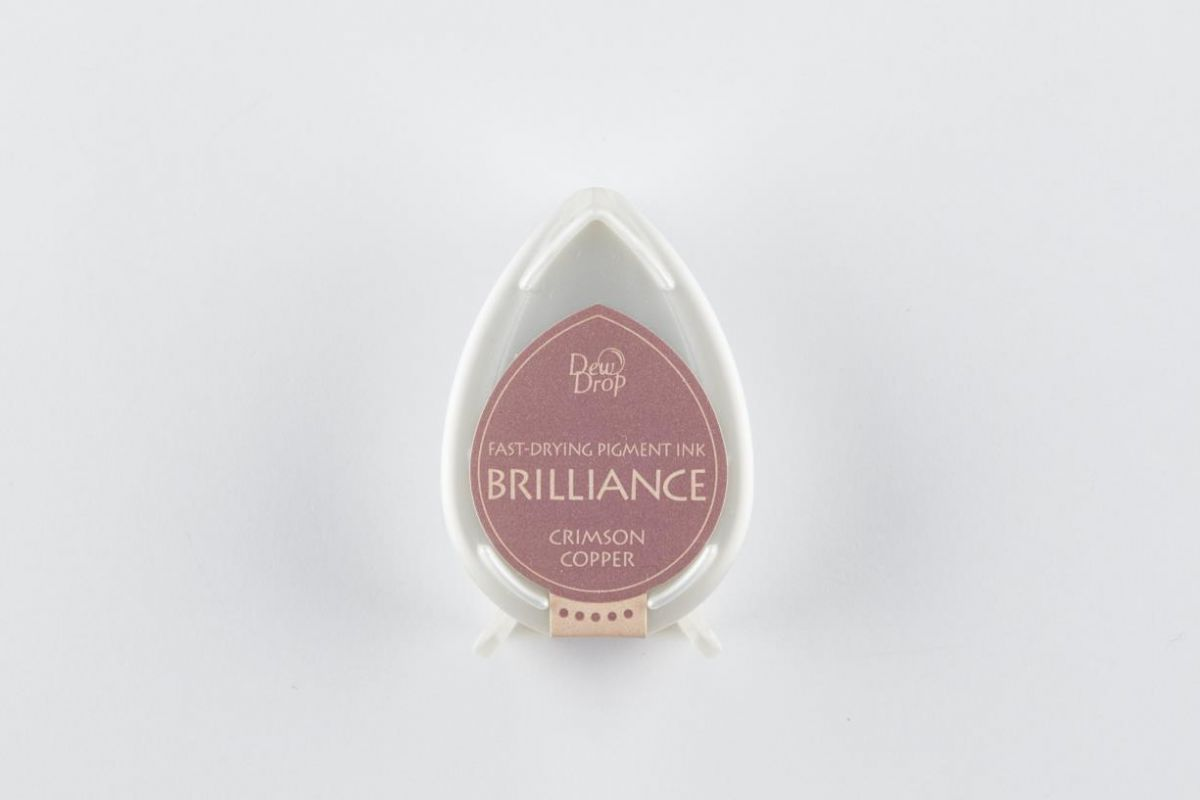 brilliance dew drop stempelkissen crimson copper bd000097