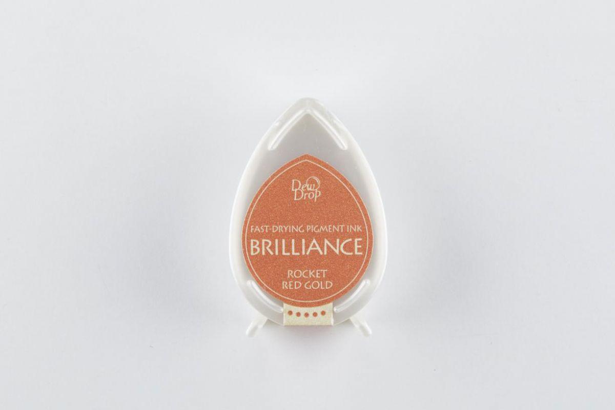 brilliance dew drop stempelkissen rocket red gold bd000096