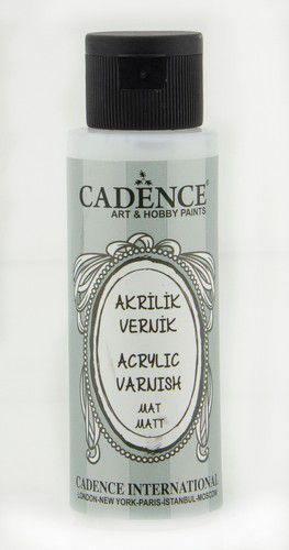 cadence acrylic varnish matt 02 002 0001 0070 70 ml