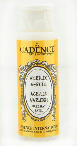 cadence acrylic varnish satin 02 003 0001 0070 70 ml