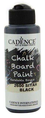 cadence chalkboard peinture black 01 006 2600 0120 120 ml