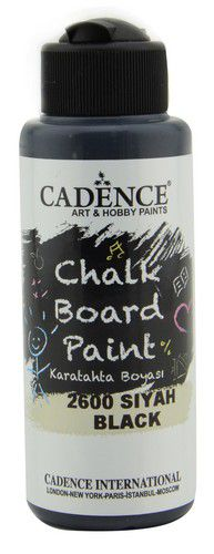 cadence chalkboard verf zwart 01 006 2600 0120 120 ml