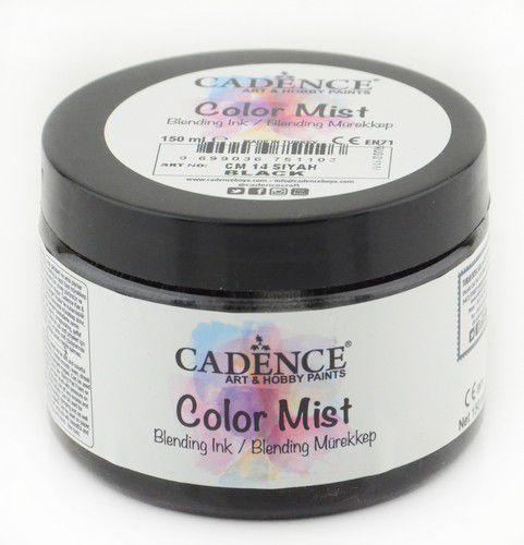 cadence color mist bending ink farbe schwarz 01 073 0014 0150 150 ml