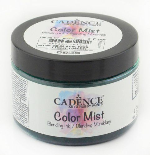 cadence color mist bending ink paint light green 01 073 0008 0150 150 ml