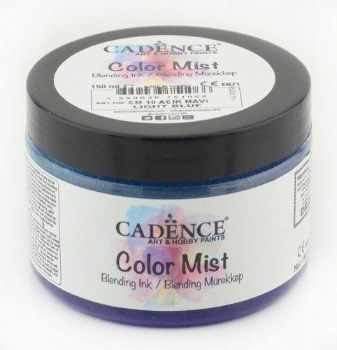 cadence color mist bending peinture dencre bleu clair 01 073 0010 0150 150 ml