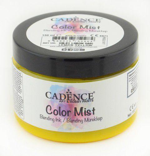 cadence color mist bending peinture dencre jaune citron 01 073 0002 0150 150 ml