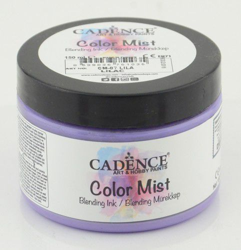 cadence color mist bending peinture dencre lilas 01 073 0007 0150 150 ml