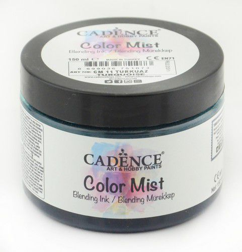cadence color mist bending peinture dencre turqouise 01 073 0011 0150 150 ml