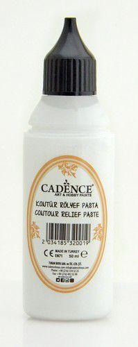 cadence contour relief paste white 01 089 0001 0050 50 ml