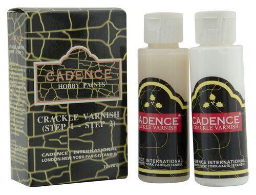 cadence crackle varnish transparent crackle set 01 130 0000 7070 7070ml