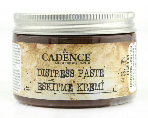 cadence distresspasta maroon kastanienbraun 01 071 1301 0150 150 ml
