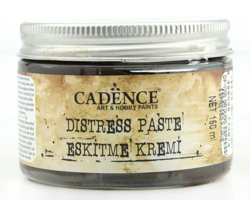 cadence distress paste ground espresso 01 071 1300 0150 150 ml