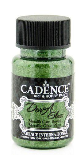 cadence dora glass porcelain paint metallic dora green 01 013 3135 0050 50 ml
