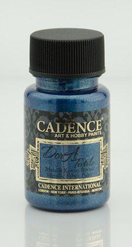 cadence dora metallic textiel verf sax blauw 01 012 1154 0050 50ml