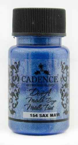 cadence dora metallic verf sax blue 01 011 0154 0050 50 ml