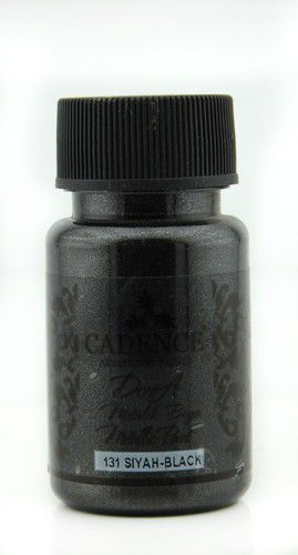 cadence dora metallic verf zwart 01 011 0131 0050 50 ml
