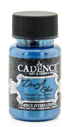 cadence dora peinture verre et porcel opag mtal dora bleu 01 013 3134 0050 50 ml